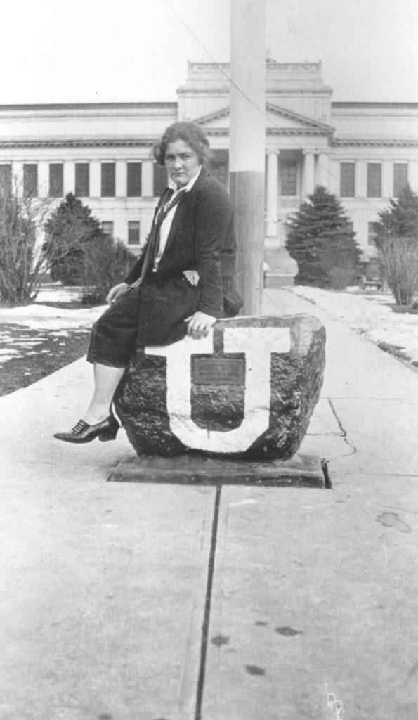 Helen M. (Taylor) Knight at U of U