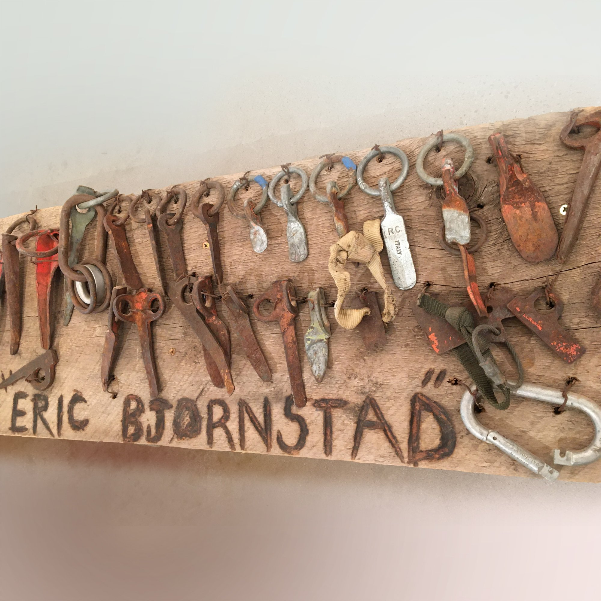 Bjornstad climbing gear