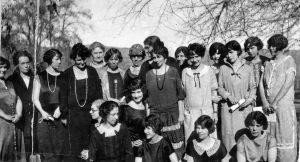 Ladies' Literary club day at Kirk's