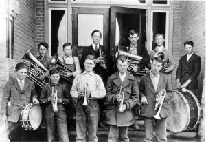 Moab - Central School Band, 1919