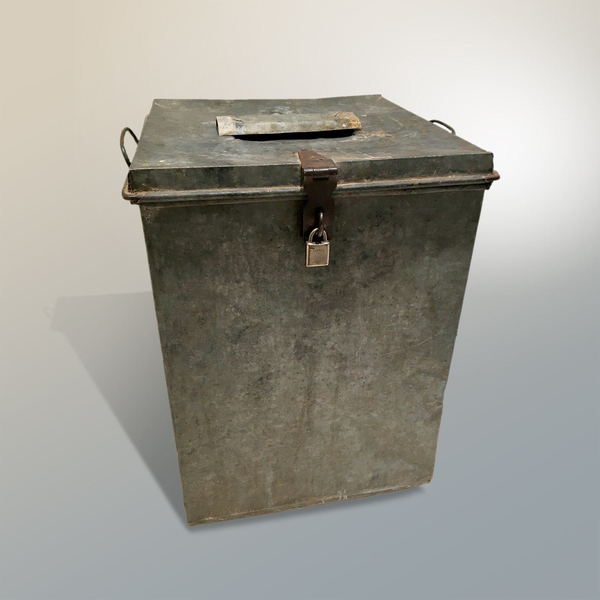 Ballot box from Grand County's first election
