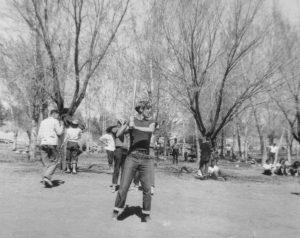 Moab - school baseball game