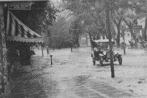 Main Street - flash flood