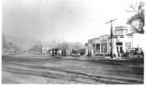 Main Street - gas station 1938