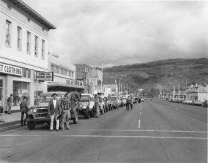 Main Street - jeeps