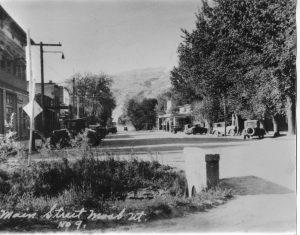 Main Street - north 1932