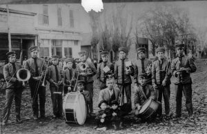 Moab - First School Band, ~1903
