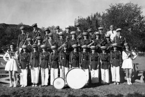 Moab - Gr. Co. HIgh School Marching band, ~1948