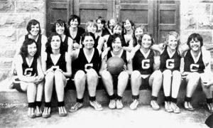 Moab - Gr. Co. High School Women's Basketball Team, 1933