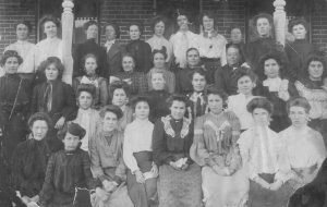 Moab - Young Ladies school group