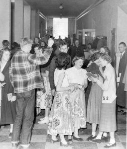 Moab - between classes, 1951