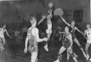Moab - school basketball game