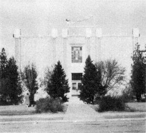 Moab - school building 1954