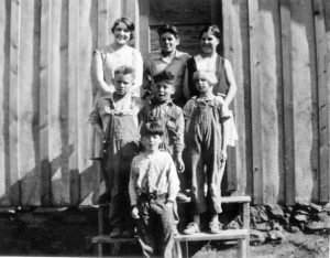 State Line school ~1929