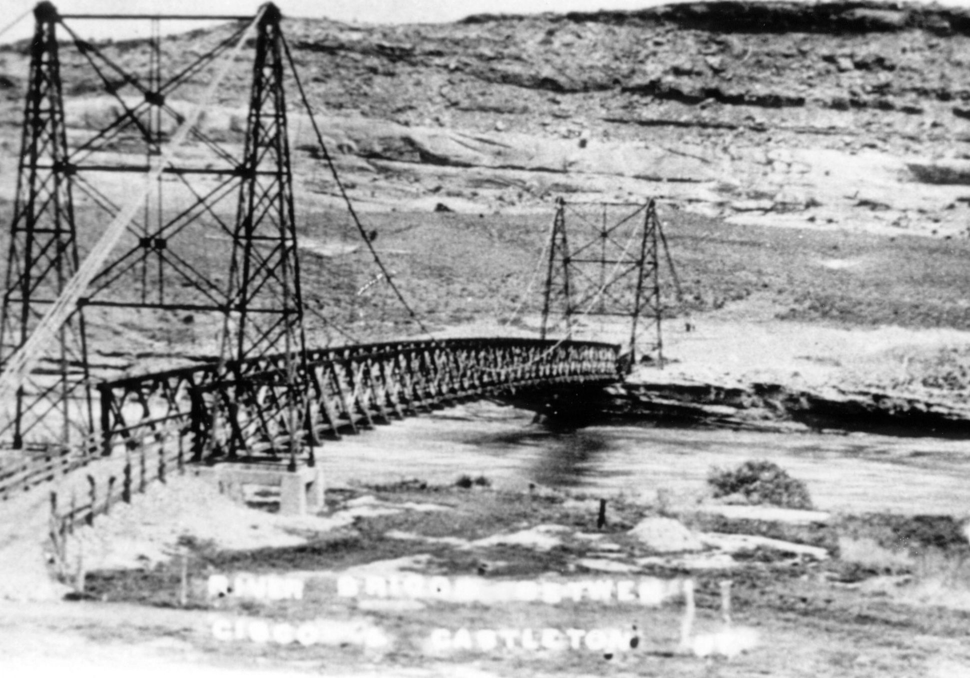 Dewey Bridge helped connect Grand County to the outside world.